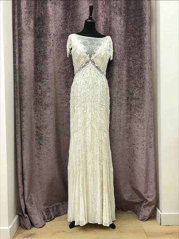 Jenny packham nashville sample wedding dress on sale 50 off for Nashville wedding dress shops