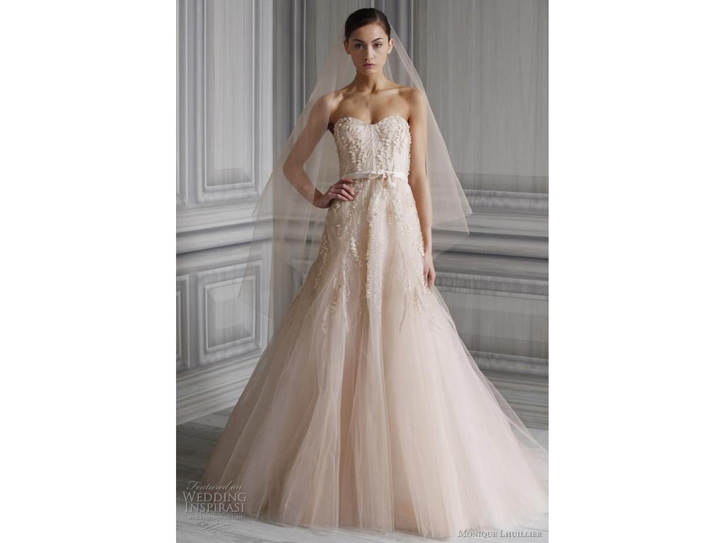 Monique Lhuillier Candy - Second Hand Wedding Dresses - Stillwhite