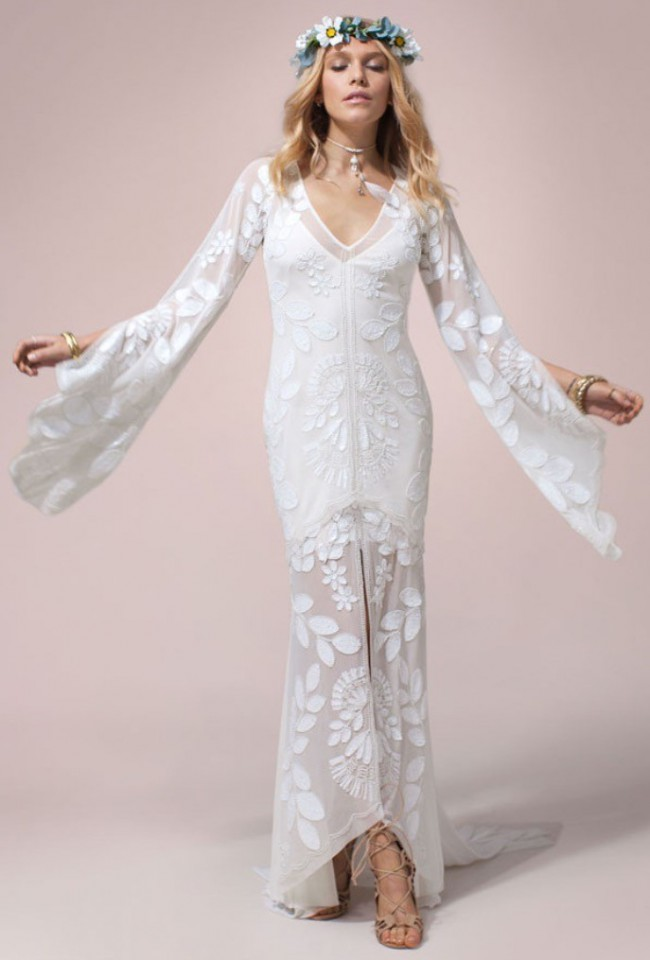 Rue De Seine Zeppelin Dress Wedding Dress On Sale 42 Off