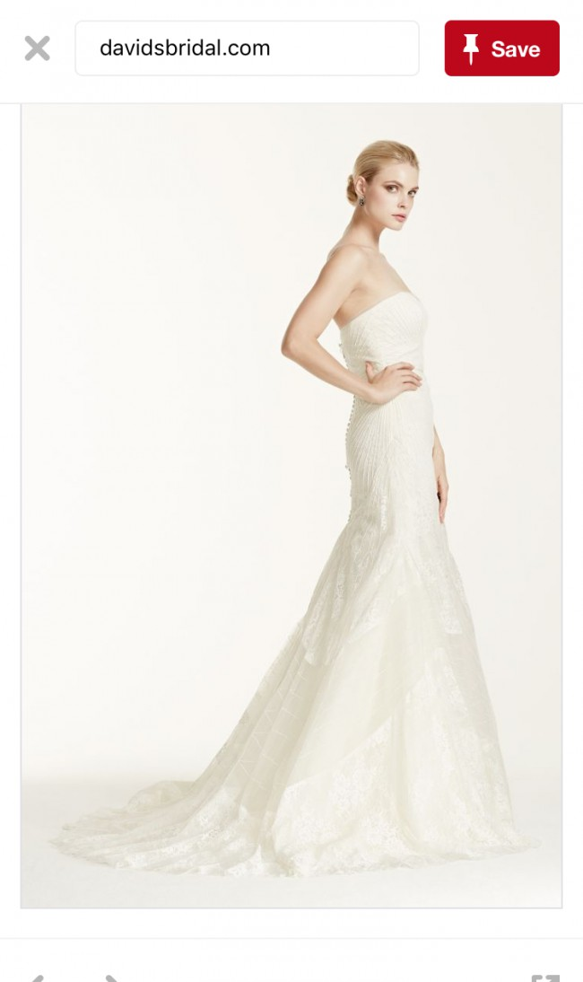 Truly zac posen 4xlzp341417 new wedding dress on sale 58 off for Zac posen wedding dresses sale