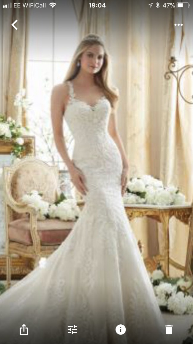 Morilee 2876 second hand wedding dress on sale 66 off for Second hand mori lee wedding dresses