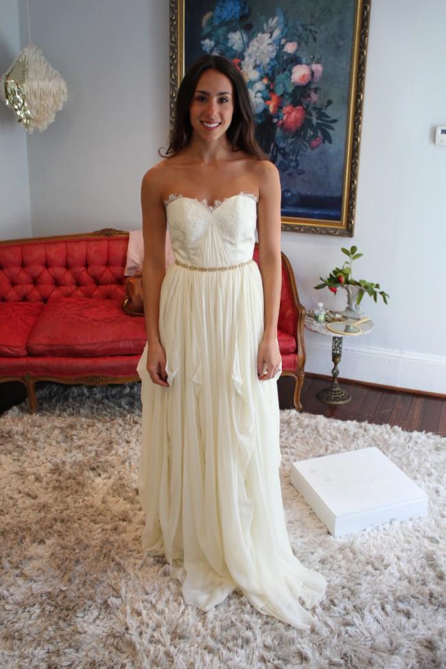 Leanne Marshall Brigitte New Wedding Dress On Sale 9 Off Stillwhite