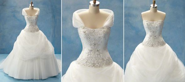 Alfred Angelo Belle\'s Disney Princess Preowned Wedding Dress on Sale