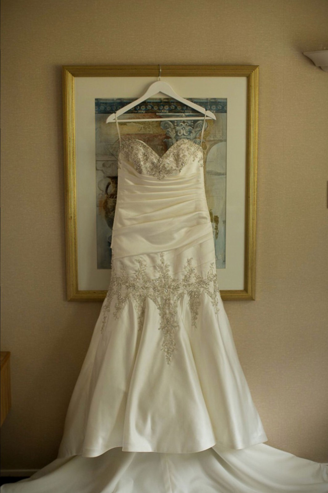 Mermaid second hand wedding dress on sale 80 off for Second hand wedding dresses san diego