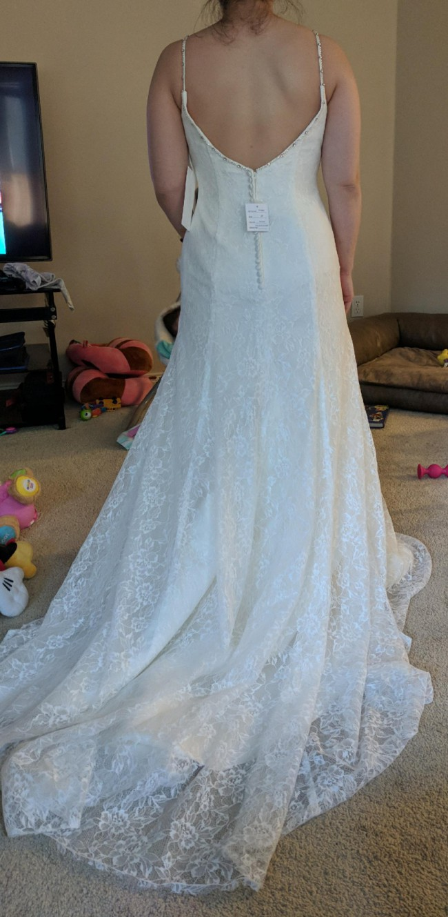 Jewel 7V3801 New Wedding Dress on Sale 53% Off