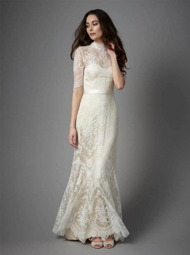 Catherine Deane Bridgette New Wedding Dress on Sale 37% Off - Stillwhite