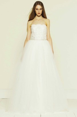 Collette Dinnigan Diamond Sparkles Lace Strapless Wedding Gown Used Dress On Sale 69 Off