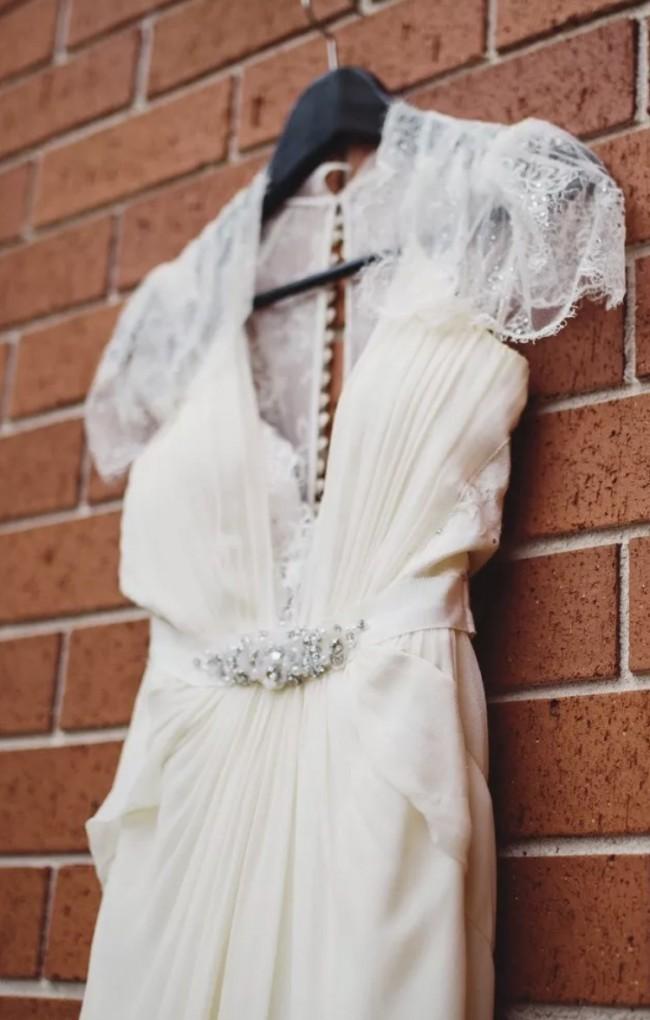Jenny Packham, Aspen wedding dress in ivory