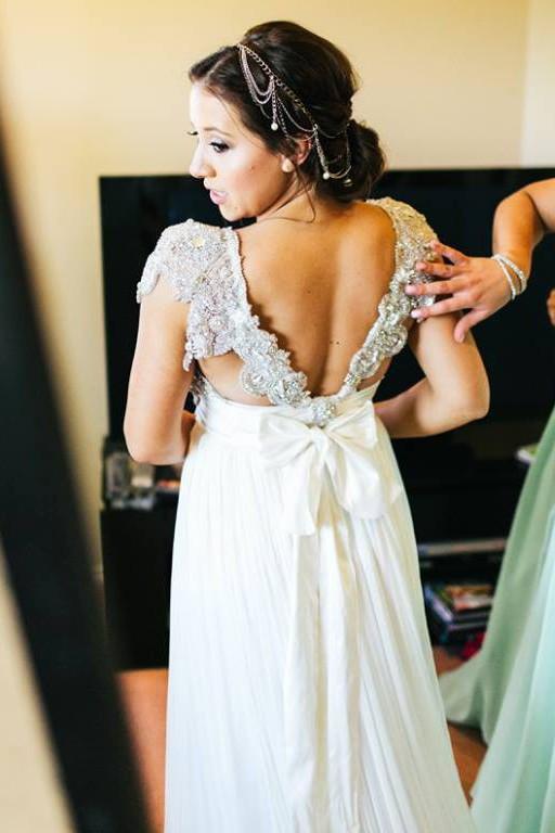 Anna Campbell Annabella Used Wedding Dress on Sale 48% Off