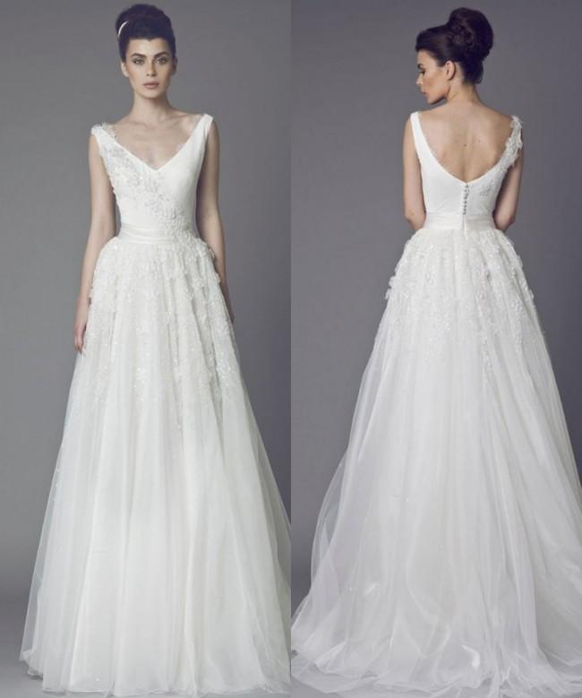 Tony Ward 2015 Sample Wedding Dress On Sale 71% Off
