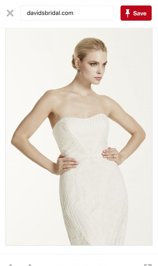 Truly zac posen 4xlzp341417 new wedding dress on sale 58 off for Zac posen wedding dress price