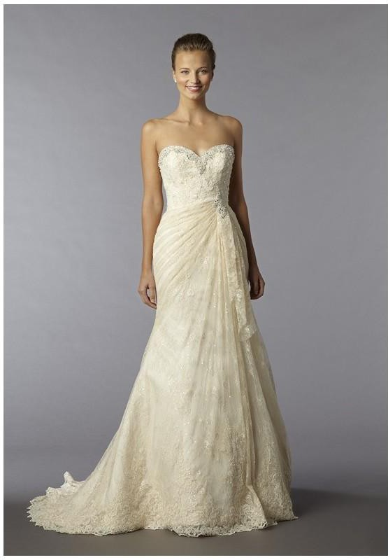 Alita Graham Sweetheart A-line gown in lace 33196833 Used Wedding ...