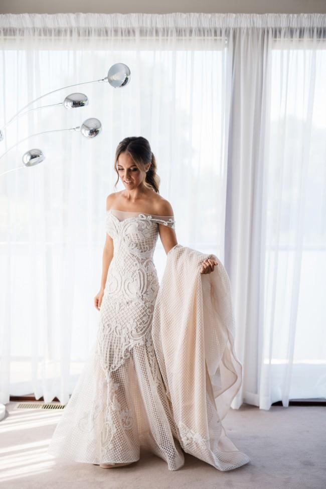 Craig Braybrook Custom Made Used Wedding Dress On Sale 62 Off