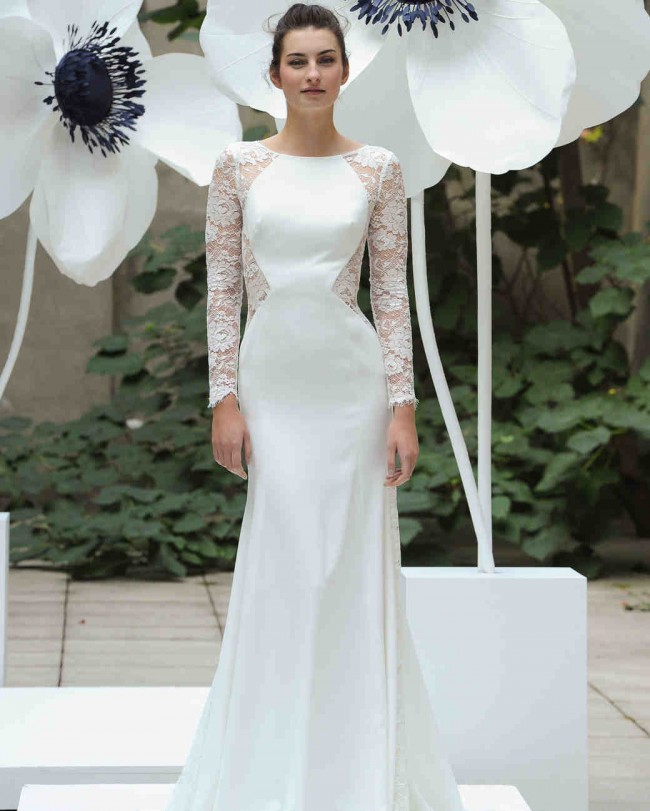 Preowned Wedding Gowns: Lela Rose The Lounge Used Wedding Dress On Sale 60% Off