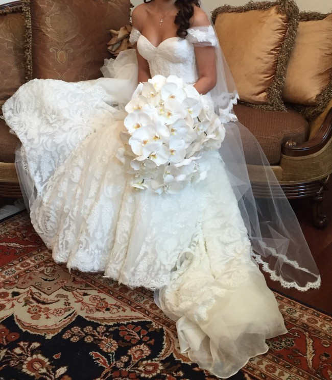 Inbal Dror Wedding Gowns For Sale: Inbal Dror Used Wedding Dress On Sale 38% Off