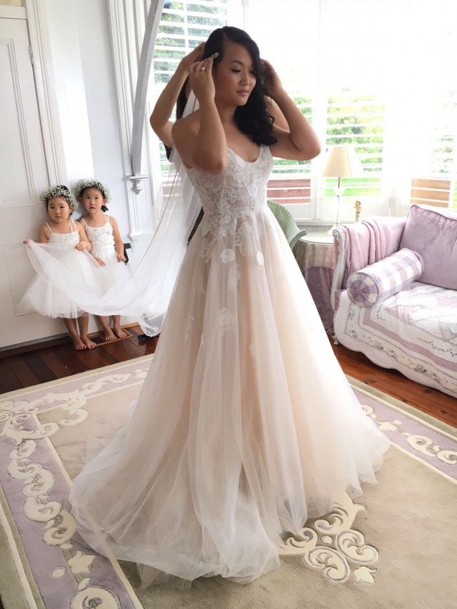 Monique Lhuillier Severine Second Hand Wedding Dress On