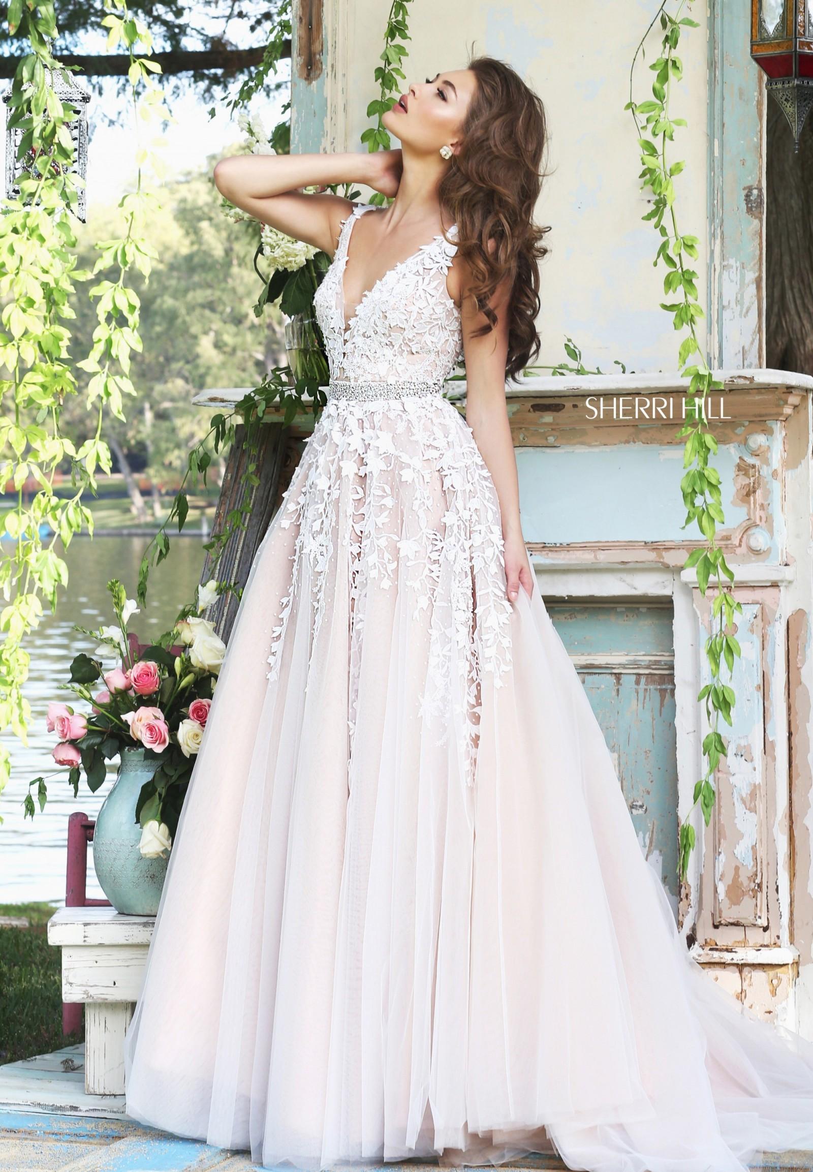 sherri hill wedding dress on sale 44 off