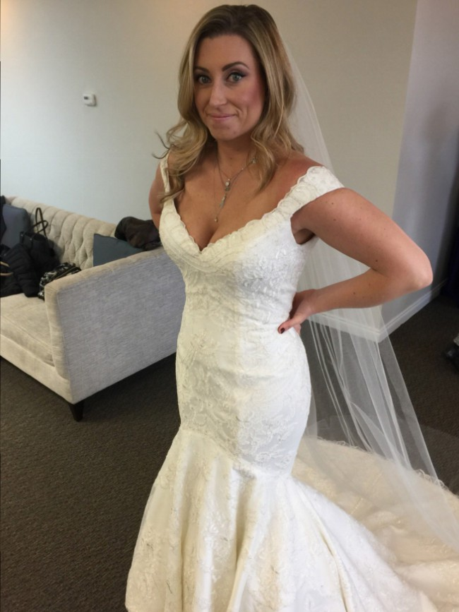 Matthew Christopher Custom Made - Monroe Gown with Straps - New ...