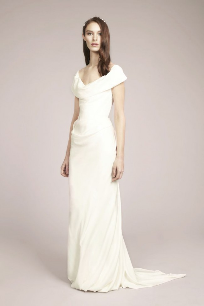 Vivienne Westwood Second Hand Wedding Dress on Sale 50% Off