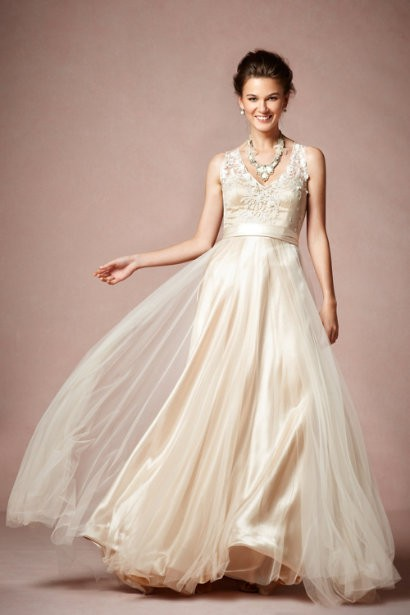 BHLDN Onyx Gown