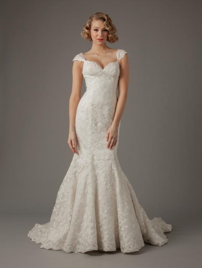 Mark Zunino MZ2, Sweetheart Mermaid Gown in Lace - Used Wedding ...