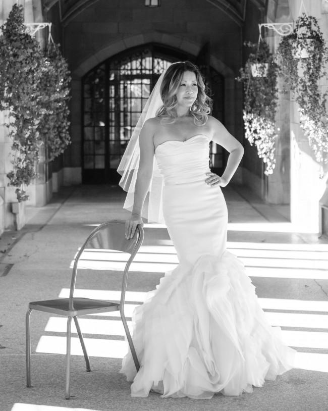 Vera Wang Ethel Second Hand Wedding Dress on Sale 50% Off - Stillwhite