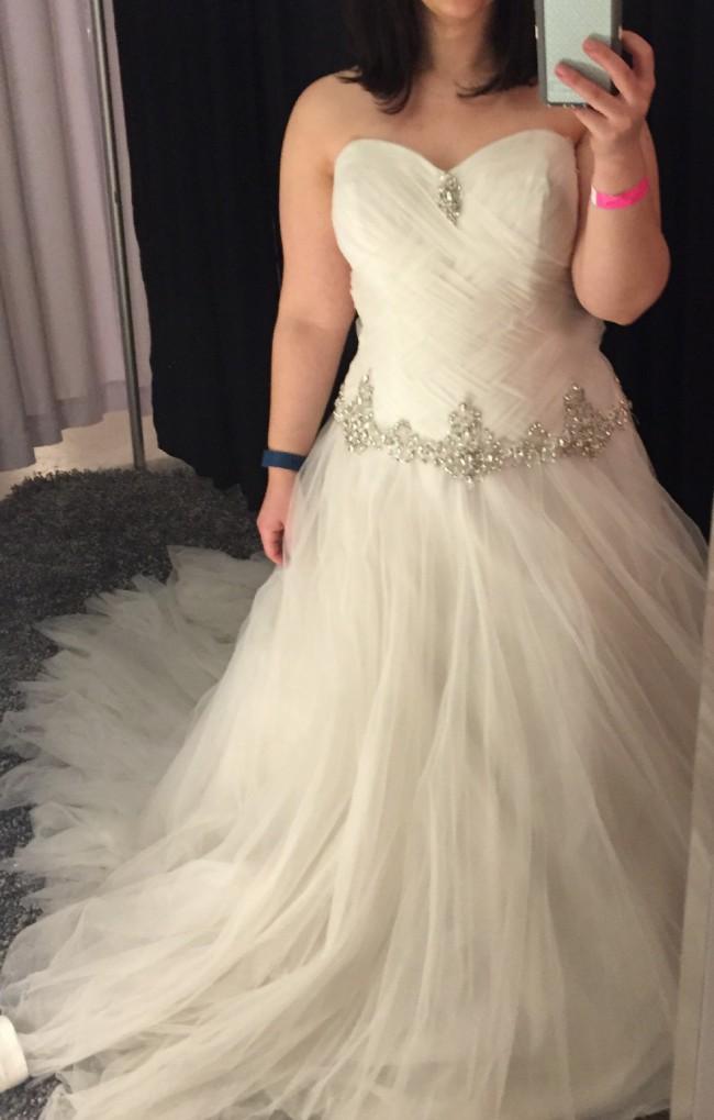 Mon cheri 211246 sample wedding dresses stillwhite for How much are mon cheri wedding dresses