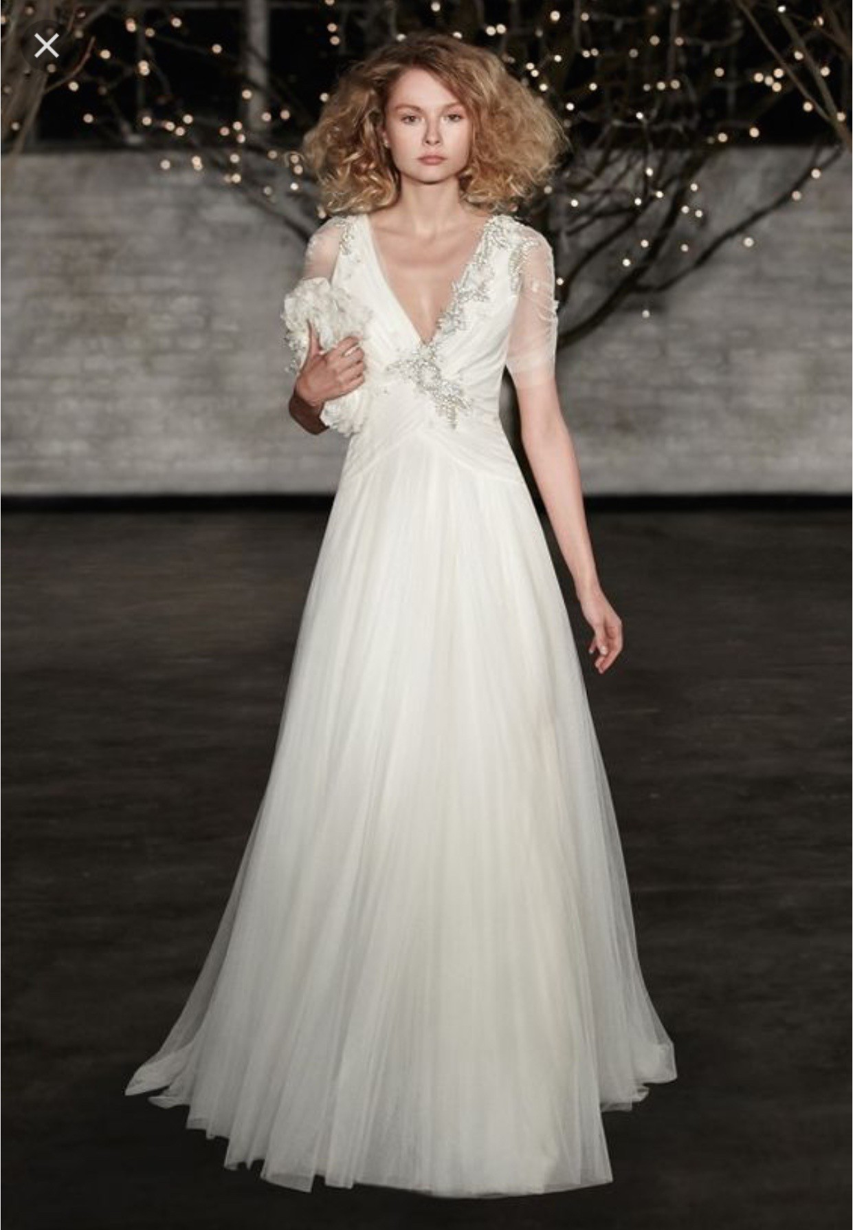 Jenny packham amour second hand wedding dress on sale 64 off for Postpartum dresses for wedding
