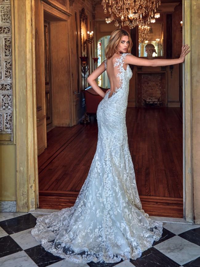 Galia Lahav, Desiree Mermaid Illusion Couture Wedding Gown Dres