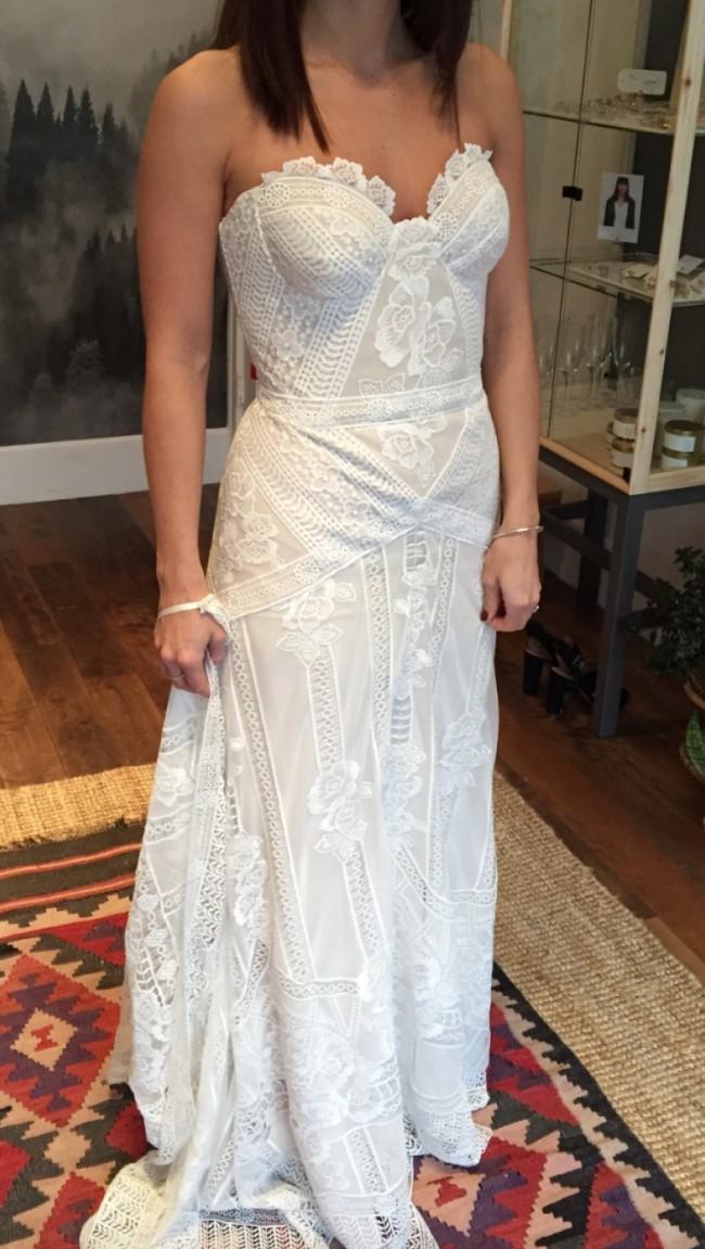 Rue De Seine Fox Gown Second Hand Wedding Dress On Sale 37