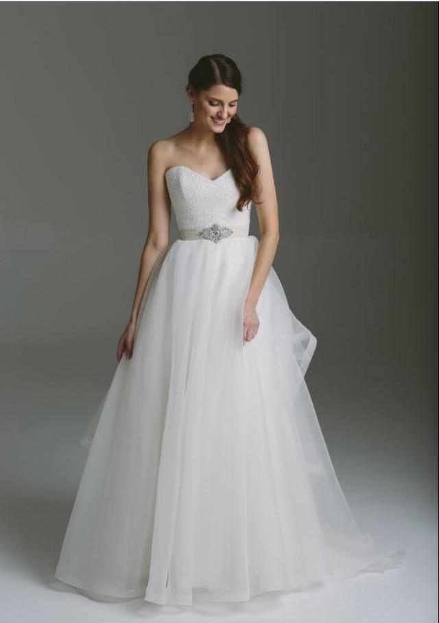 Karen Willis Holmes Paige Dress Detachable Selena Skirt Wedding On Sale 58 Off