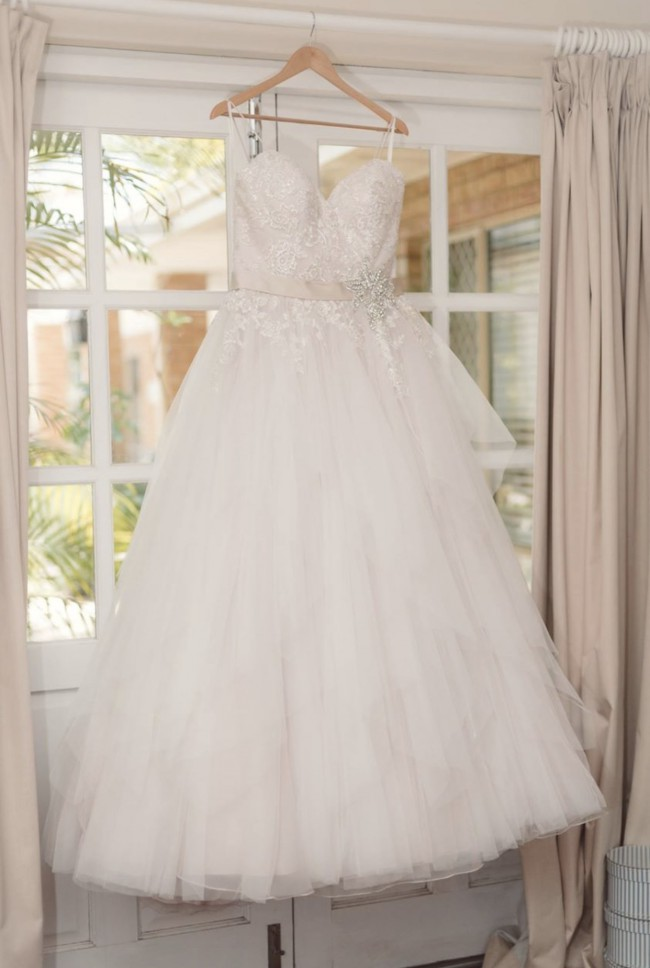Ball Gown Used Wedding Dress on Sale 50% Off