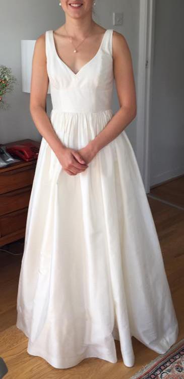 J crew karlie gown 09686 second hand wedding dresses stillwhite junglespirit Choice Image