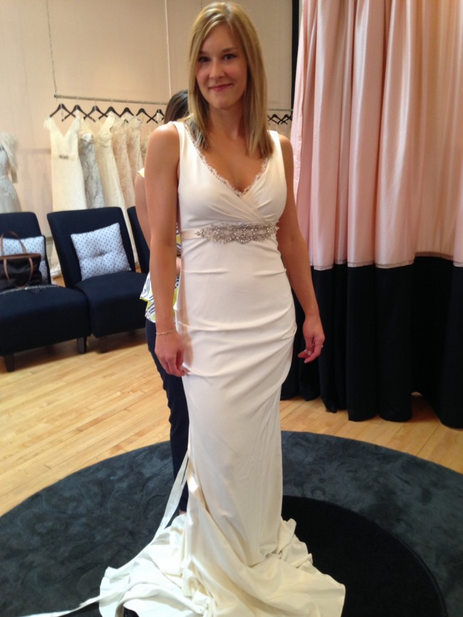 Nicole Miller Nina Bridal Gown New Wedding Dress on Sale 61% Off