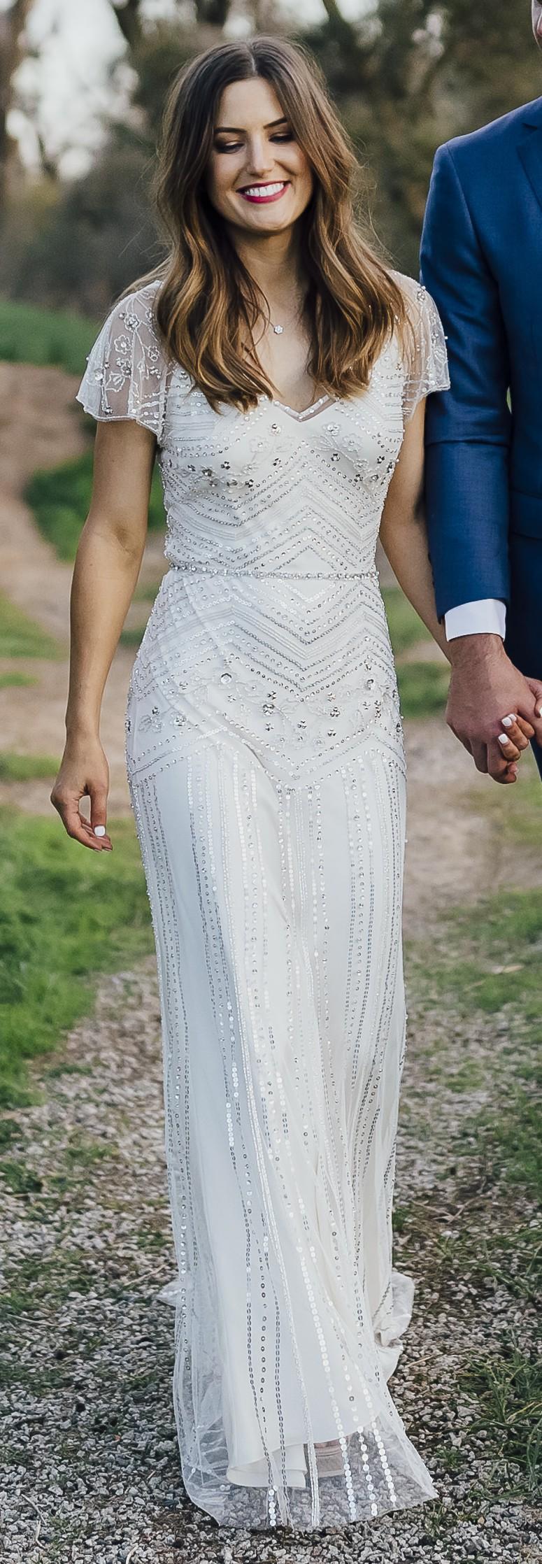 Second Hand Jenny Packham Wedding Dress | Elegant Weddings