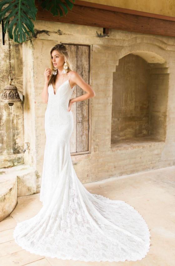 Made with love charlie sample wedding dress on sale 41 off for Made with love wedding dresses