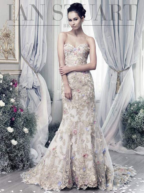 Ian Stuart Papillon New Wedding Dress on Sale 53% Off ...