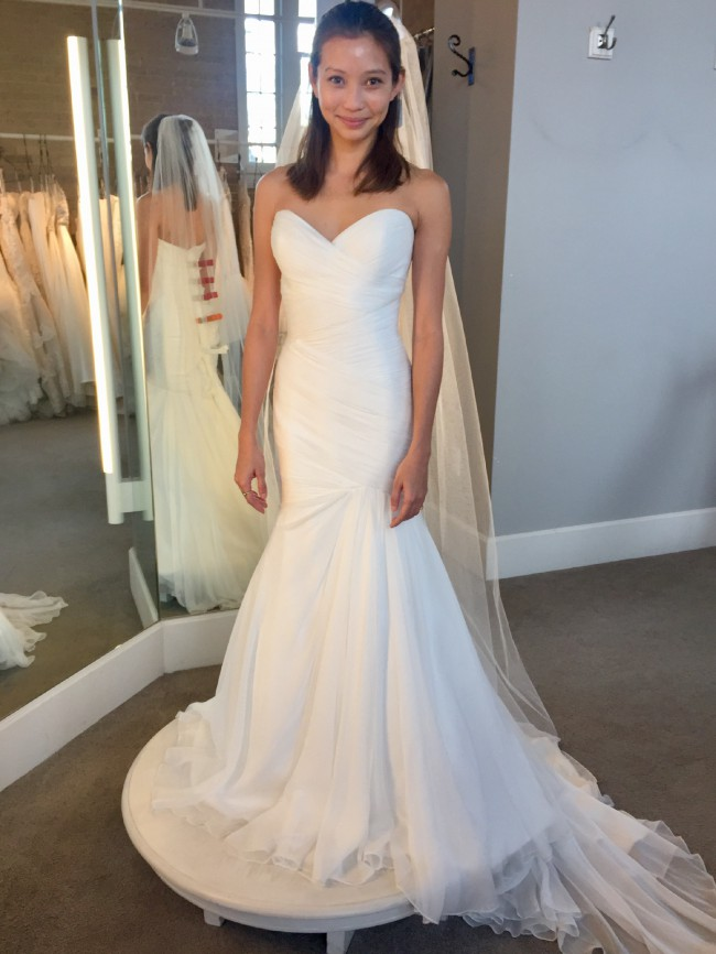 Lis Simon Erin Size 2 Wedding Dress
