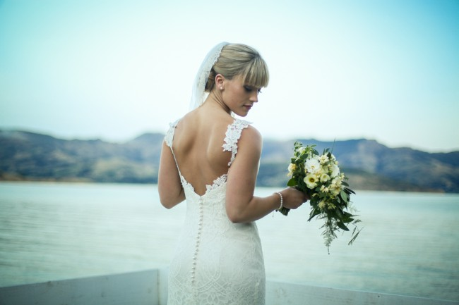 Louise Anderson Custom Made Wedding Dress on Sale 38% Off