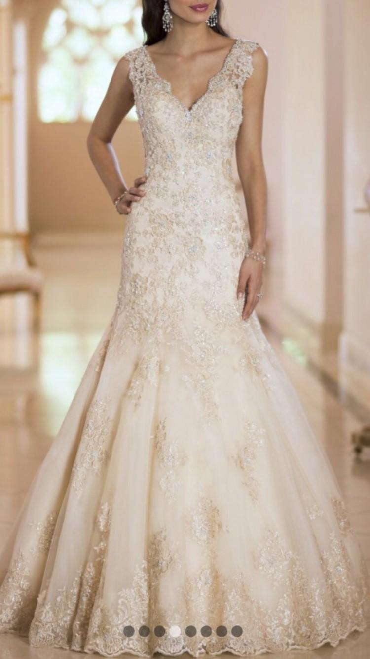 Stella york 5299 pre owned wedding dress on sale for Stella york wedding dresses near me