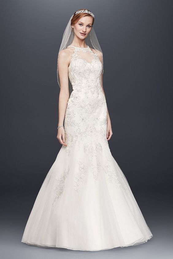 Mermaid pre owned wedding dress on sale for Mermaid wedding dresses on sale