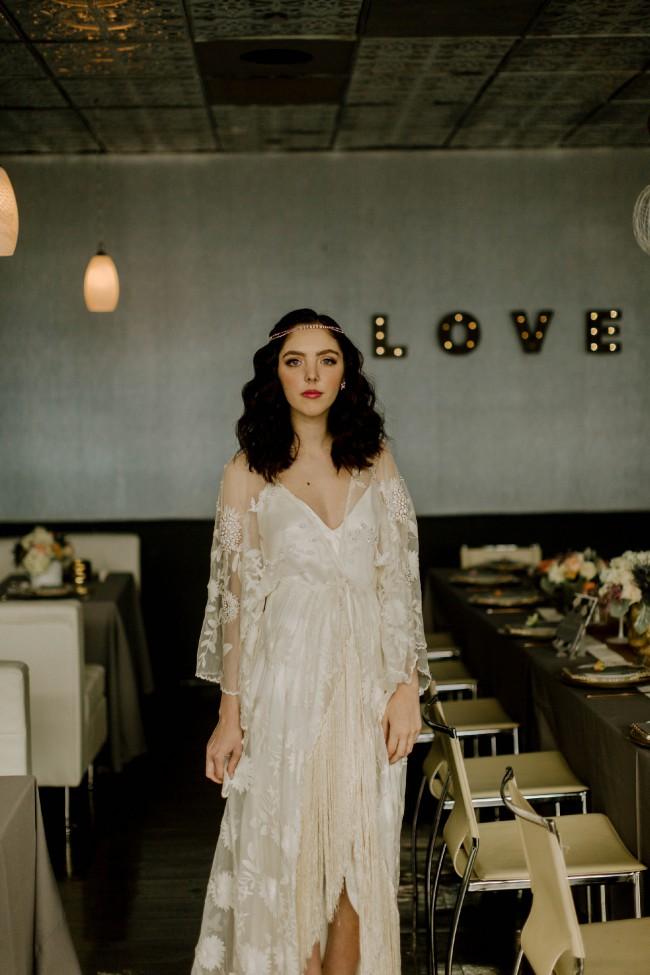 Rue De Seine Cleo Dress Used Wedding Dress On Sale 25 Off