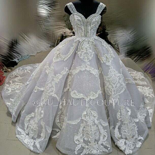 Ru Haute Couture Ball gown New Wedding Dress on Sale - Stillwhite