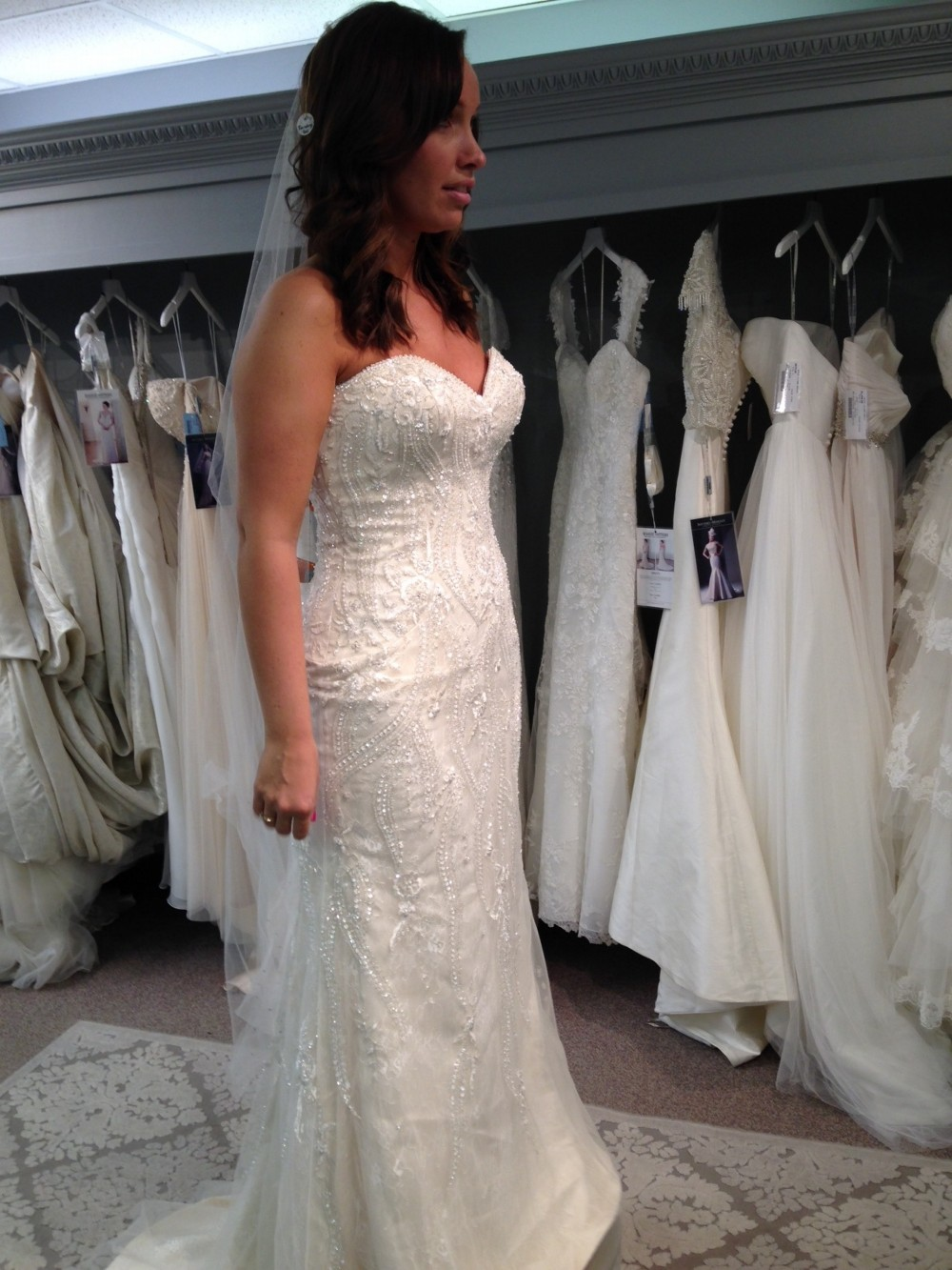 Maggie sottero donna second hand wedding dress on sale 64 off for Who sells maggie sottero wedding dresses