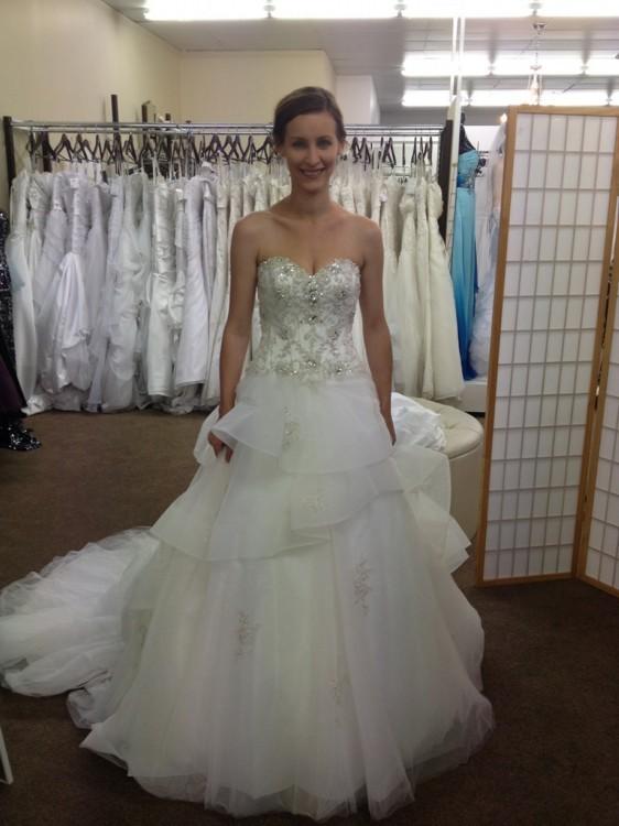 Alfred Angelo Belle 217 New Wedding Dress On Sale 61 Off Stillwhite