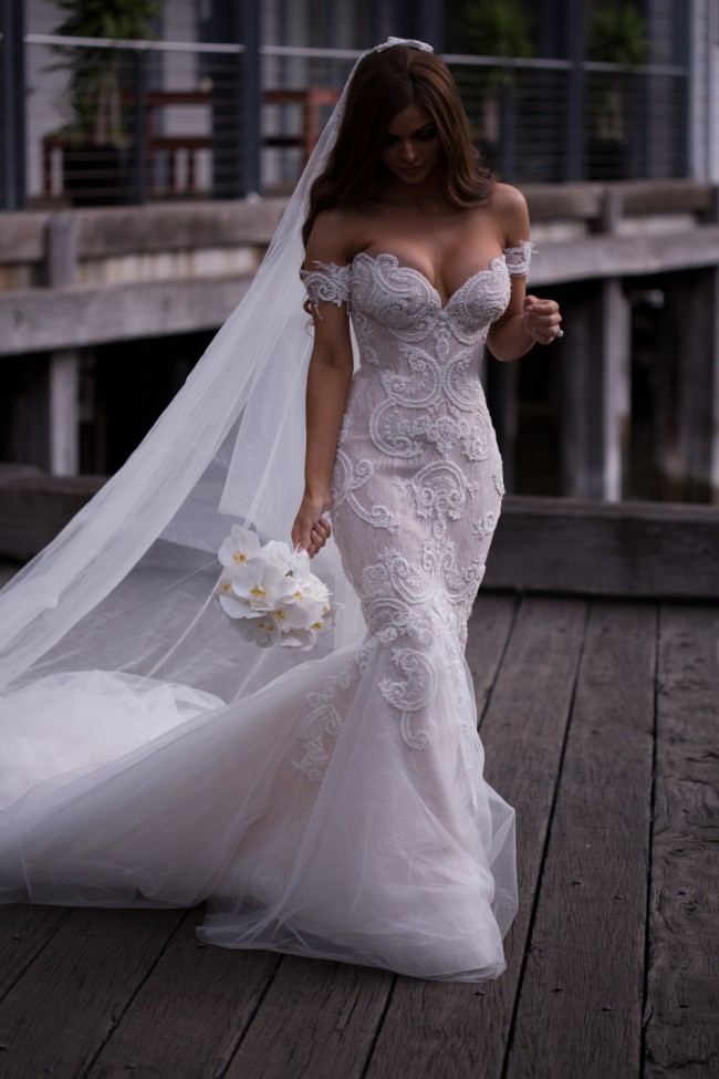 Steven khalil preowned wedding dress on sale 29 off for Steven khalil wedding dresses cost
