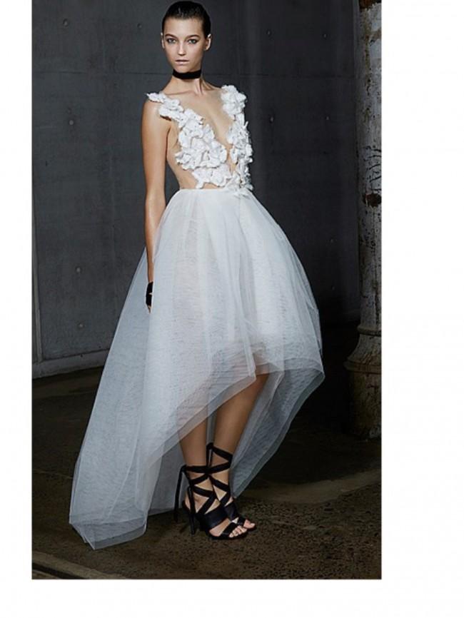 Carla Zampatti White Orchid Lace Prima Ballerina - New Wedding ...