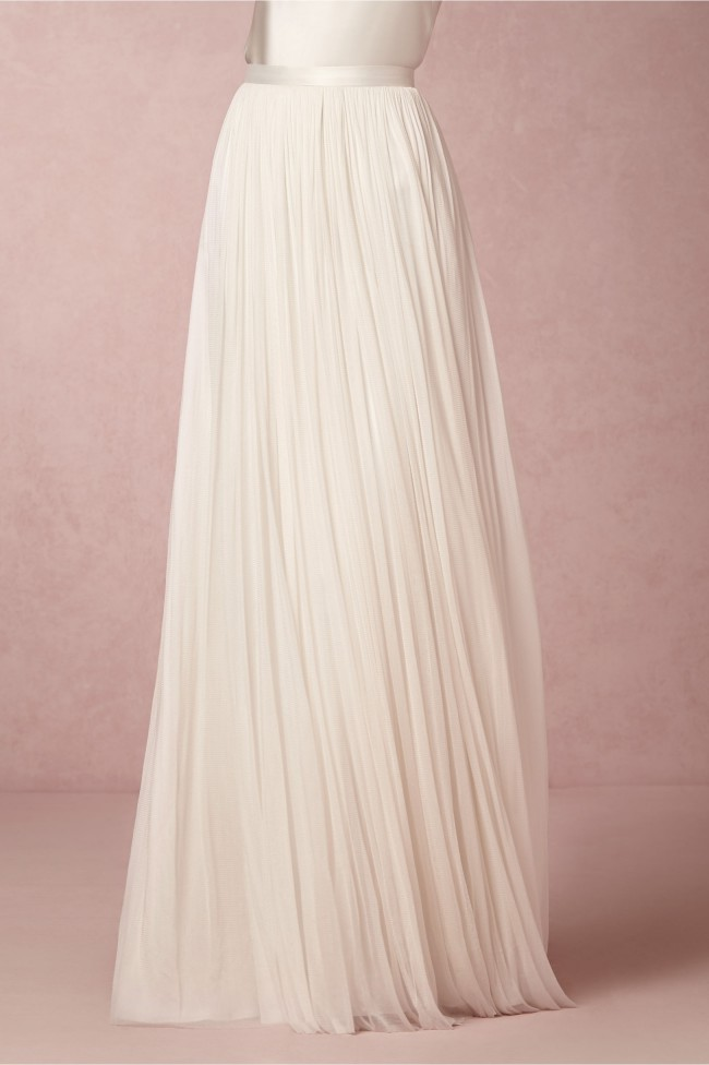 BHLDN, Anika Tulle Skirt by Catherine Deane