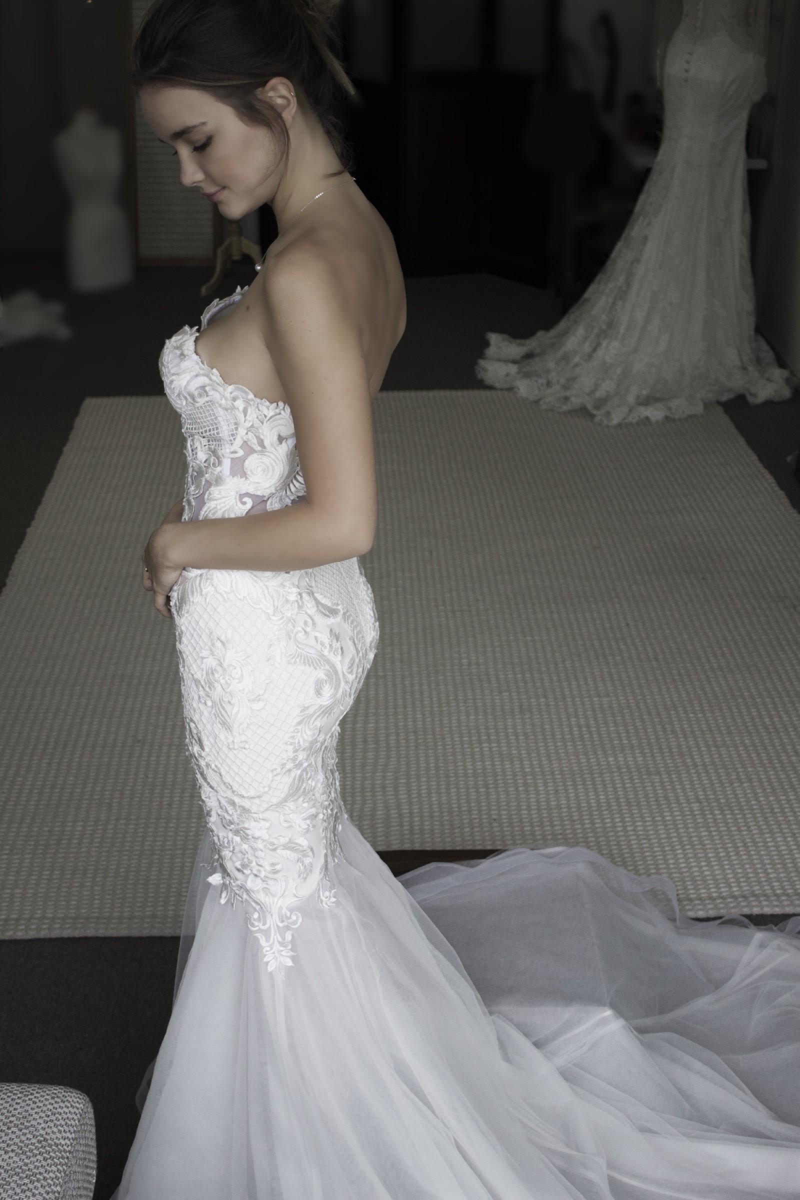 Blinova bridal sample wedding dress on sale 42 off for Wedding dress sample sale san francisco