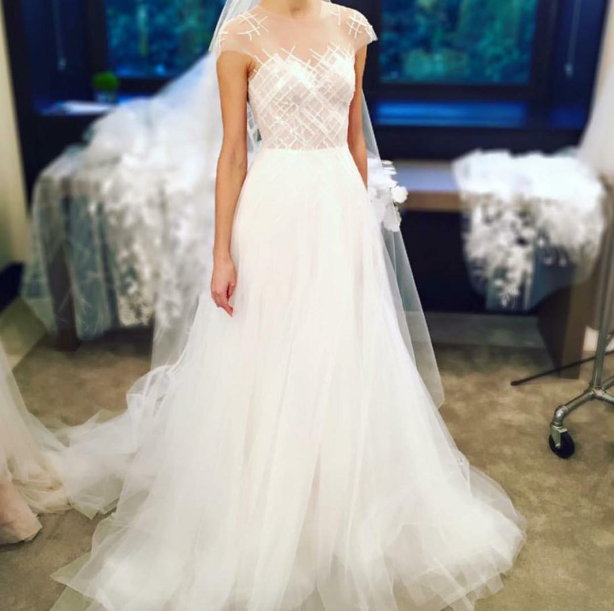 Simple Wedding Dress Hong Kong: Mira Zwillinger Ray Wedding Dress On Sale 60% Off